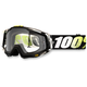 Black/White/Yellow Racecraft T2 Goggle w/Clear Lens - 50100-093-02