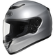 Light Silver Metallic Qwest Helmet