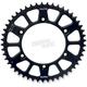 Black Anodized Rear Works Triplestar Aluminum Sprocket - 5-355948BK