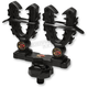 Black KXP Rhino XL ATV Double Rack Grips - 21516
