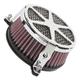 Chrome Spoke Air Cleaner - 06-0225-04
