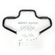 The Multibar Black Highway Bar w/Rubber Footrests - BL13609