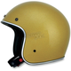 Gold Metal Flake FX-76 Helmet