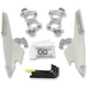 Polished No-Tool Trigger-Lock Hardware Kits for Fats/Slim & Batwing Fairings - MEK1986