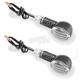 Carbon Round Mini Stalk Marker Lights - 26-6012