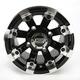 Black 393X Cast Aluminum ATV/UTV Wheel - 0230-0523
