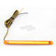 TruFLEX 30-Amber LED with Amber Tubing Professional Grade Flexible Lighting Strip - TF30AA