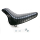 Pleated Bare Bones Solo Seat - LX-007 PT