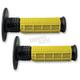 Yellow/Black X.9 Half Waffle Grips - MXW10