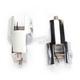 Chrome Rear Folding Footpeg Adapters - FRMT401-C