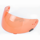 Orange Nutra Fog II Shield for  Qualifier, Qualifier DLX, Revolver EVO, RS-1 and Vortex; plus Star 2005-2015 Helmets - 2010067