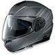 Gray/Anthracite N104 N-Com Modular Helmet