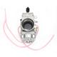 38mm TM Series Universal Flat Side Performance Carburetor - 47mm Spigot Mount - TM38-85