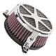 Chrome Spoke Air Cleaner - 06-0245-04