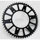 Black Anodized Rear Works Triplestar Aluminum Sprocket - 5-354752BK