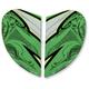 Green Airmada Sportbike SB1 Sideplate Kit - 0133-0748