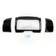 Gloss Black Deluxe Tri-Line Stereo Trim Kit - 7299