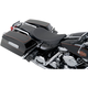Black Pinstripe Low-Profile Solo Seat - 0801-0729
