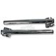 Chrome 1 in. Clip-On Handlebar for 41mm Fork Tubes - 23-93143