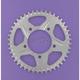 Aluminum Silver Rear Sprocket - 528C-44