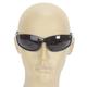 Black Safety C-119 Sunglasses w/Smoke Lens - C-119BK/SM