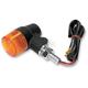 Round #3 Single Filament Marker Lights w/Amber Lens - 25-8632