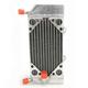 Left X-Braced Aluminum Radiator - MMDBCRF25004LX