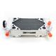 Right X-Braced Aluminum Radiator - MMDBCRF25004RX