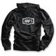 Black Corpo Pullover Hoody