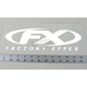 Factory Effex CorpWindow Sticker - 10-94012