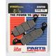 Excel HS Sintered Metal Street Brake Pads - 704HSS