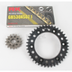 GB530XSO-Z1 Chain and Black Sprocket Kit - 1102-044AK