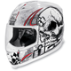 White Death or Glory Helmet