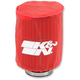 Red Round Straight Drycharger Air Filter Wrap - RA-0510DR
