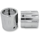 Chrome Rival Front Axle Nut Covers - AXL-RIV-CH