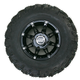 Front Right Gloss Black 387X Tire/Wheel Kit - 0331-1168