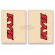 Red/Black KYB Upper Fork Decals - 01016