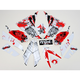 Sportbike White/Red Graphic Kit - 60201