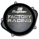 Factory Racing Black Clutch Cover - CC-07B