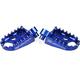 Blue Evolution Racing Footpegs - S3512B