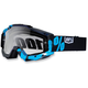 Black/Cyan Accuri Motocross Goggles w/Clear Lens - 50200-012-02