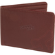 Brown Leather The Verm Tri-Fold Wallet - 01983-081-NS