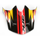 Black/Yellow/White CL-X6 Spectrum MC-3 Replacement Visor - 0962-6019-03