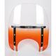 Memphis Slims 15 in. Windshield for Standard 5 3/4 in. - 7 in. Headlights - MEM4117