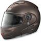 N103 N-Com Metallic Pearl Mocha Modular Helmet