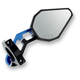 Blue D Axis Bar End Mirror - DXM-BL