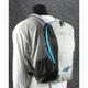 Black/Gray/Blue Lite Backpack - 6107514-1017