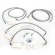 Stainless Steel Brake Line Kit For Use With 18-20 Inch Ape Hangers w/ABS - LA-8050B19