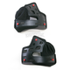 Black 30mm Cheek Pad Set for X-Small and Small RS-1 Helmets