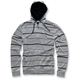 Gray Burnout Hoody